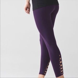 RARE Lululemon Pure Practice Pants Leggings Size 2